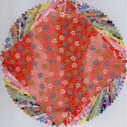 147 mm_  24 sh - Washi Paper Handmade - Mix Prints