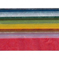 150 mm_  20 sh - Handmade YuLong Paper - Mix Colors