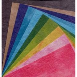 150 mm_  10 sh - Washi Paper Dyed Momigami Kozoshi