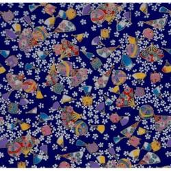 230 mm_   1 sh - Washi Paper Yuzen Design 22