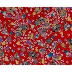 230 mm_   1 sh - Washi Paper Yuzen Design 21
