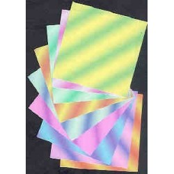 Origami Paper Floral Colored - 051 mm - 220 sheets