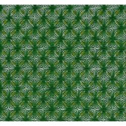 255 mm_   1 sh - Washi Crepe Paper Geometric Design 32B-12