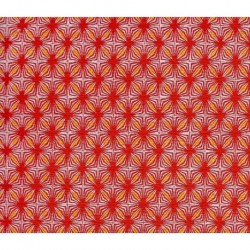255 mm_   1 sh - Washi Crepe Paper Geometric Design 32B-10