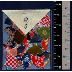 Washi Paper Set Fan Punch Outs