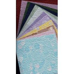 150 mm_  50 sh - Washi Handmade Momigami Paper - Mix Colors