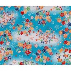 230 mm_   1 sh - Washi Paper Yuzen Design 81