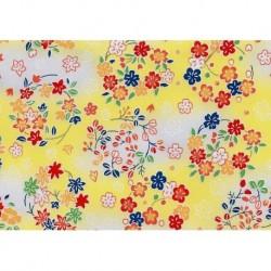 230 mm_   1 sh - Washi Paper Yuzen Design 80
