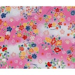 230 mm_   1 sh - Washi Paper Yuzen Design 79