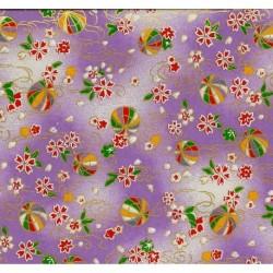 230 mm_   1 sh - Washi Paper Yuzen Design 78