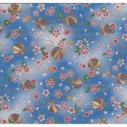 230 mm_   1 sh - Washi Paper Yuzen Design 77