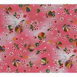 230 mm_   1 sh - Washi Paper Yuzen Design 75