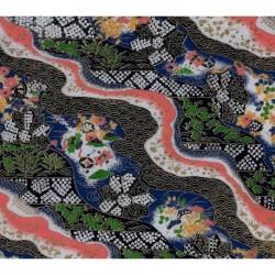 230 mm_   1 sh - Washi Paper Yuzen Design 51