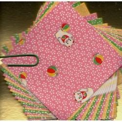 060 mm_   25 sh - Washi Paper Cat Print