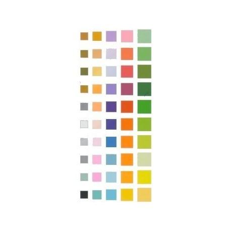 118 mm_ 100 sh - 50 Colors Origami Folding Paper