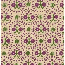 Carta Varese - Flower Trees Green and Purple