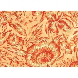 Carta Varese  - Orange Flowers