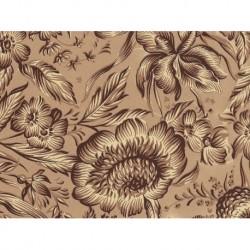 Carta Varese - Brown Flowers