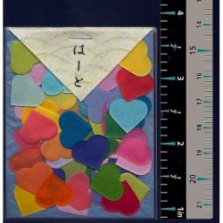 Washi Paper Set Heart Punch Outs