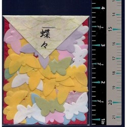 Washi Paper Set Butterfly Punch Outs