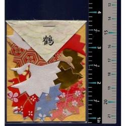 Washi Paper Set Crane Punch Outs