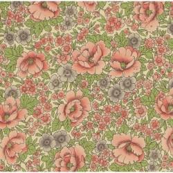 Carta Varese  - Pink and Green Julias Flowers