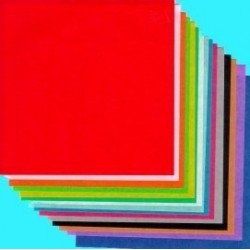 Origami Paper Thin Crisp Washi - 150 mm - 100 sheets