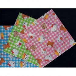Origami Paper Hello Kitty - 075 mm - 50 sheets