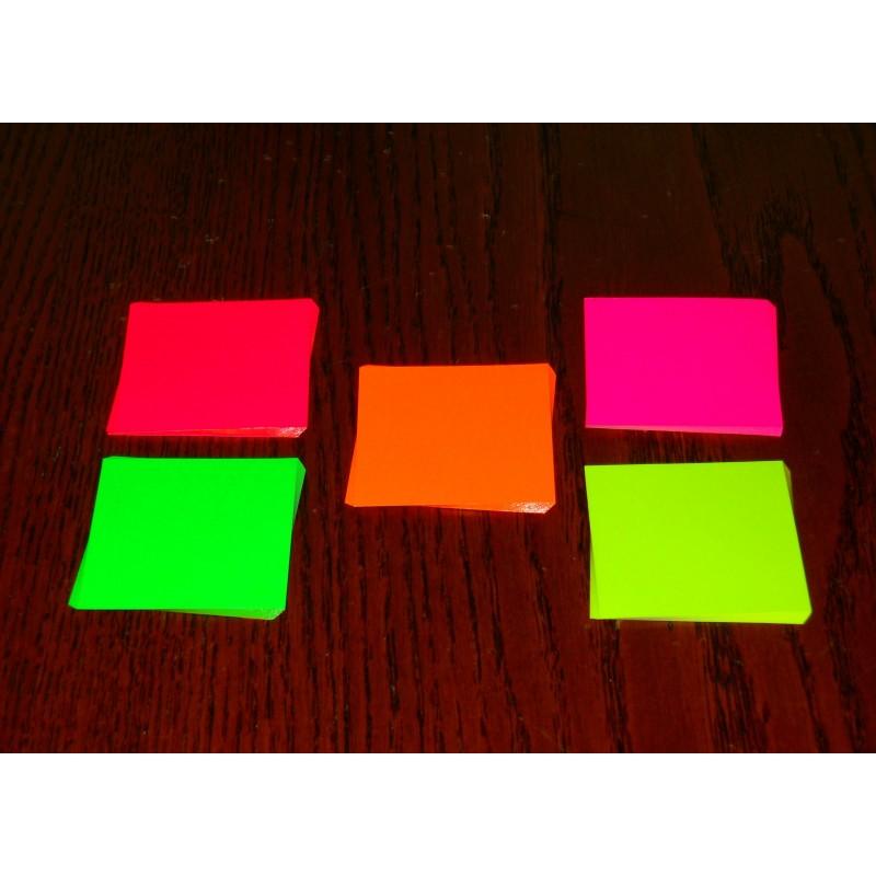 051 mm 100 sh florescent colored origami paper bulk