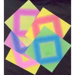 075 mm_  80 sh - Floral Colored Origami Paper - Bulk