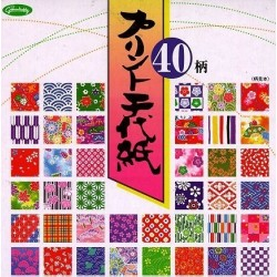 150 mm_ 200 sh - 40 Different Patterns Print Paper