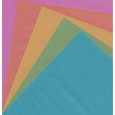 150 mm_  10 sh - Origami Paper Pearl Color Tracing - Bulk