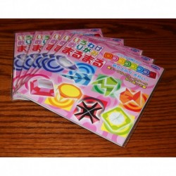 Origami Paper Circle Print - 150 mm - 32 sheets - Bulk