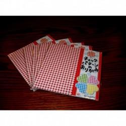 150 mm_  35 sh - Checker Print Origami Paper - Bulk
