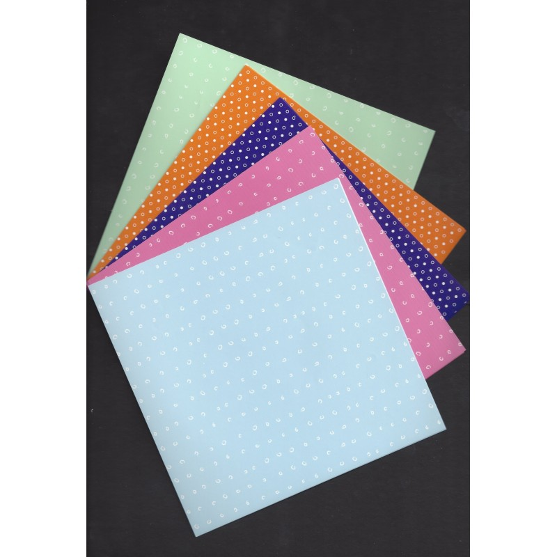 origami paper small print 150 mm 36 sheets bulk