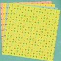 150 mm_  12 sh - Fruit Print Origami Paper - Bulk
