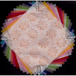 145 mm_  16 sh - Handmade Washi Paper