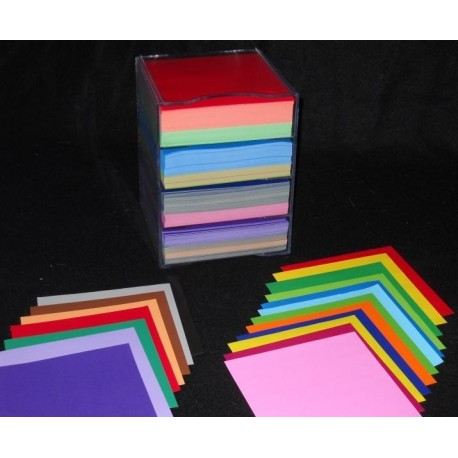 150 mm_2000  sh -  Double Sided Origami Paper in Plastic Case