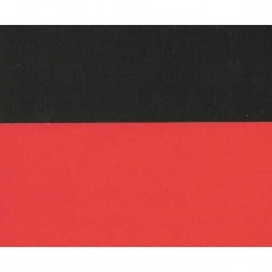 240 mm_  50 sh - Double Sided Red/Black Origami Paper