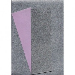 Origami Paper Silver Metallic and Pink Washi - 150 mm - 10 sh