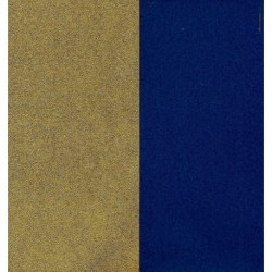 150 mm_  10 sh - Gold Metallic and Blue Washi Paper
