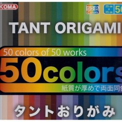 Origami Paper Tant 50 Colors - 250 mm - 50 sheets