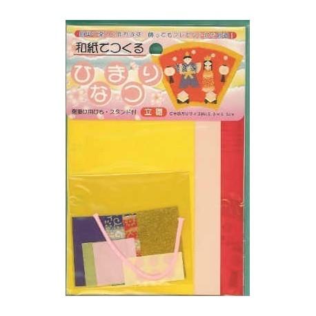 110 mm_  21 sh - Washi Doll Kit