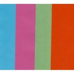 Kraft Paper by Kartos - Mixed Colors - 300 mm - 6 sheets
