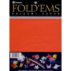 150 mm_  50 sh - Origami Paper - Orange