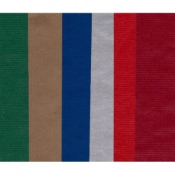 300 mm_   6 sh - European Kraft Mixed Colors Paper