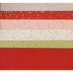 240 mm_  10 sh - Silver and Gold Speckled Washi Paper