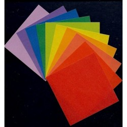 050 mm_ 200 sh - Pearlized Golden Crane Folding Paper