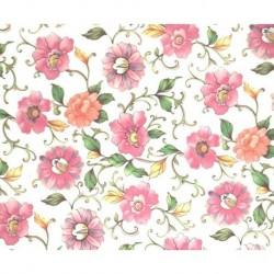 Carta Varese  - Pink Flowers