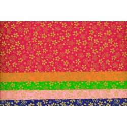 Origami Paper Same Cherry Blossom Print Washi - 150 mm -  5 sheets